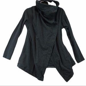 Lululemon size 10 grey ombré wrap cardigan